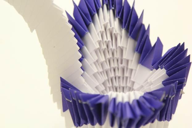 Цветные модули оригами