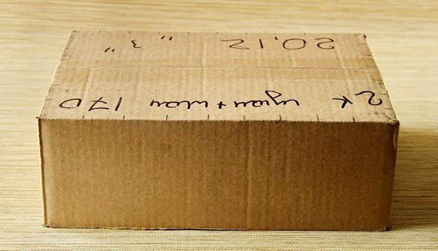 Разметка коробки