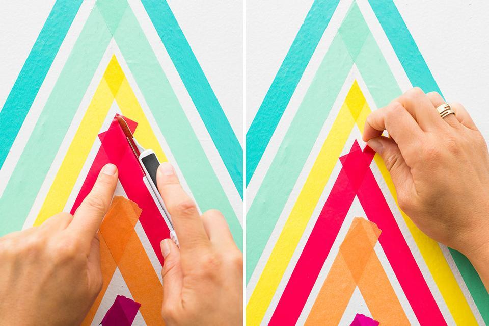Треугольники в интерьере