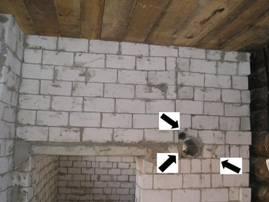 Несущая кирпичная стена