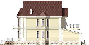 Фасад дома. Проект