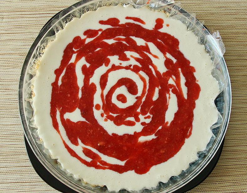 Торт с земляникой фото