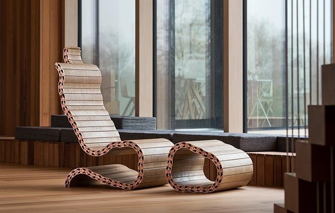 Оригинальная модульная мебель, форму которой можно подобрать самостоятельно