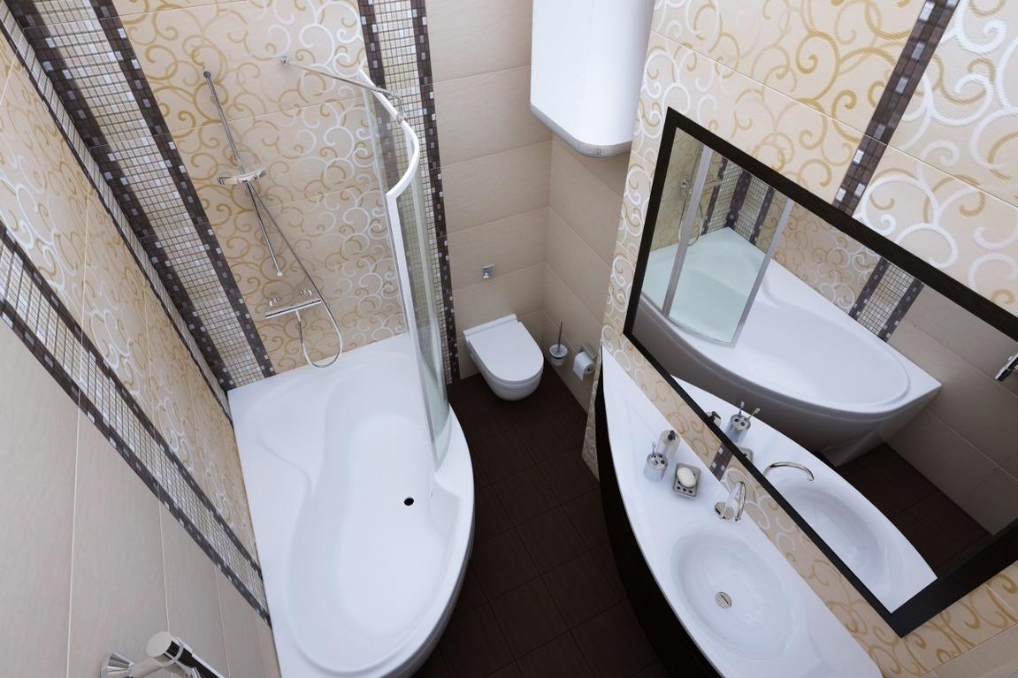 Белый в ванной комнате