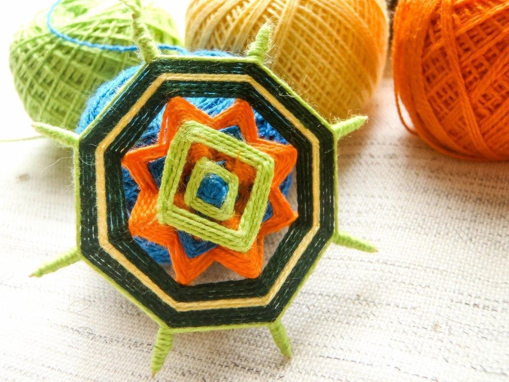 Плетем мандалы своими руками