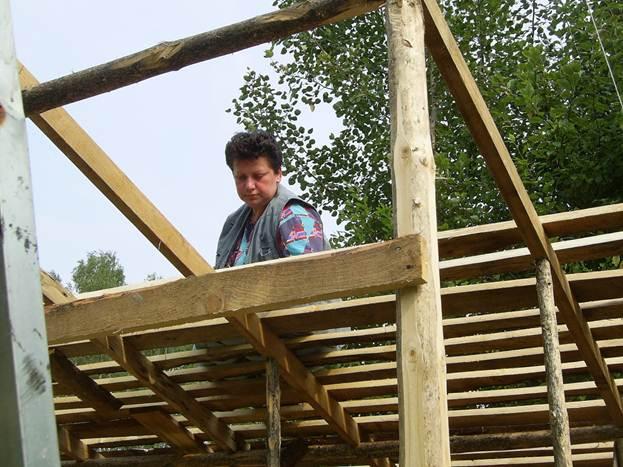 Построить сарай на даче пошаговое 64