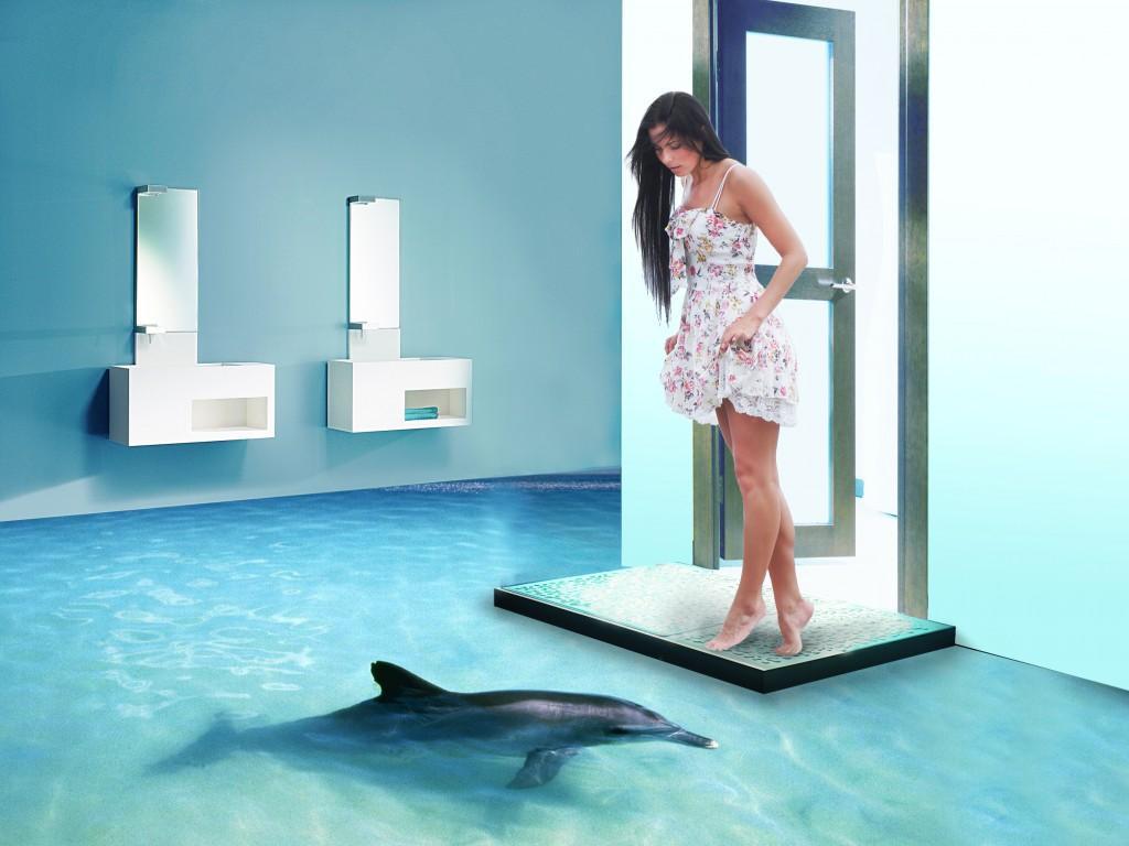 Наливные 3Dполы: изюминка ремонта