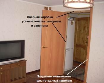 межкомнатная дверь пена фото