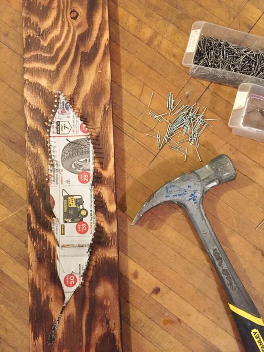 Как сделать декоративные гвозди