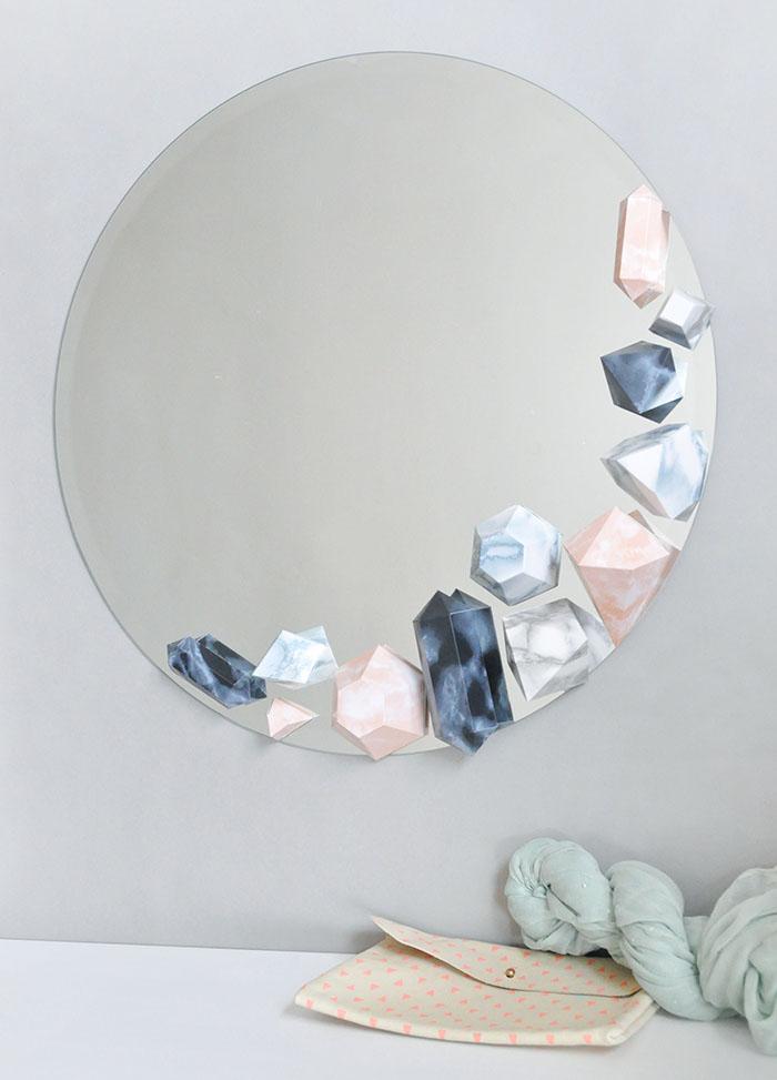 Украшение зеркала своими руками