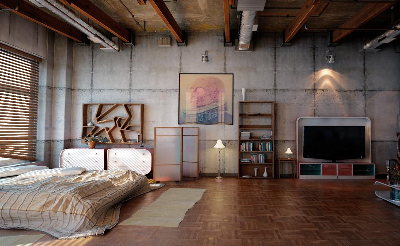 Маленькая квартира встиле лофт— самостоятельно