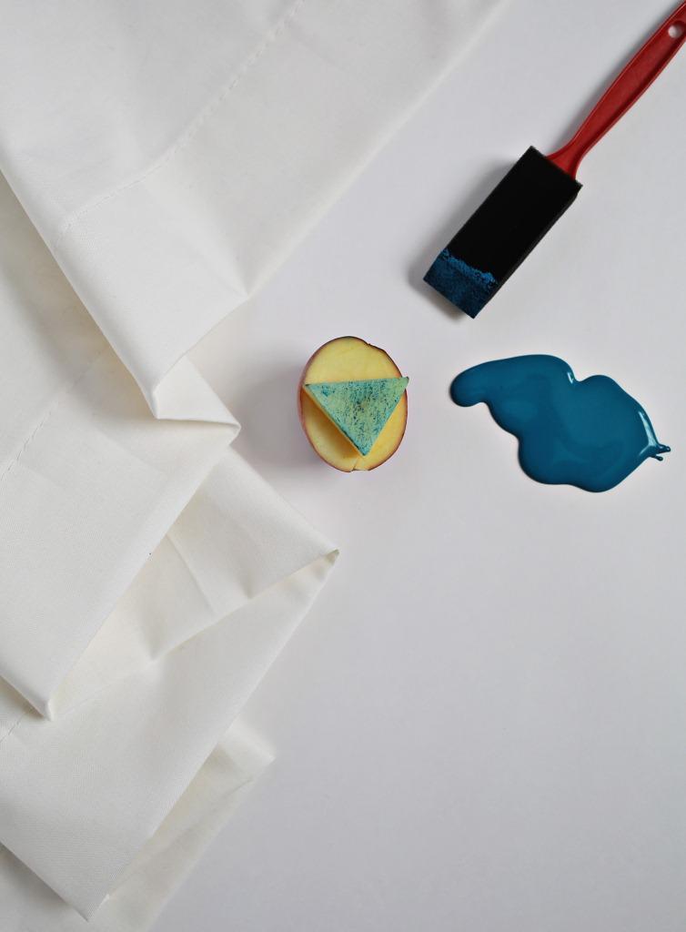 Как сделать шторы сузорами своими руками