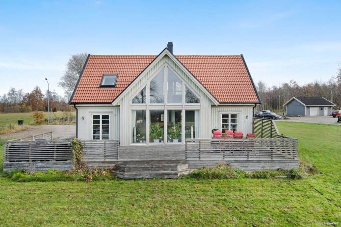 Фасад вскандинавском стиле— дань моде или практичное решение?
