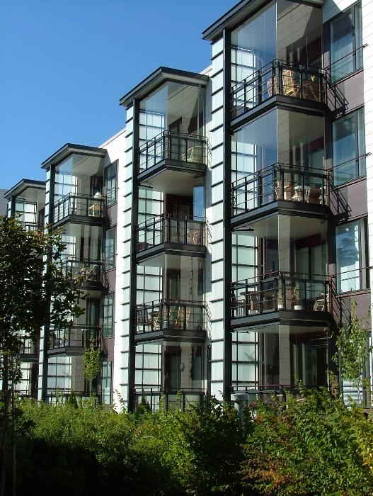 LUMON_балконы из цветного алюминиевого профиля