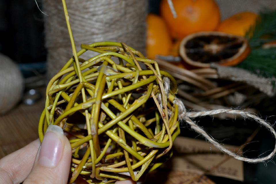 Плетение шара