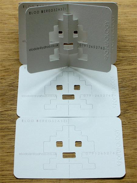 объемных визиток