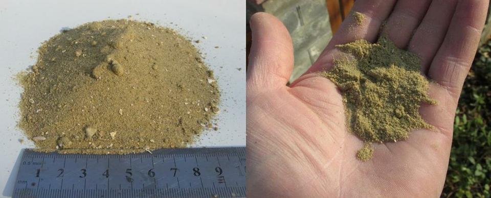 Карьерный мелкозернистый песок