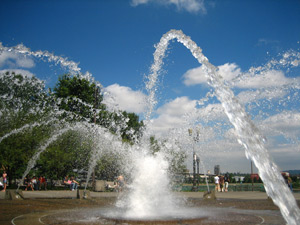 «Веерные» насадки для фонтанов