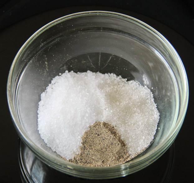 Перец с солью