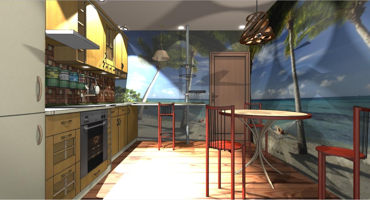 кухня 10 кв м фото