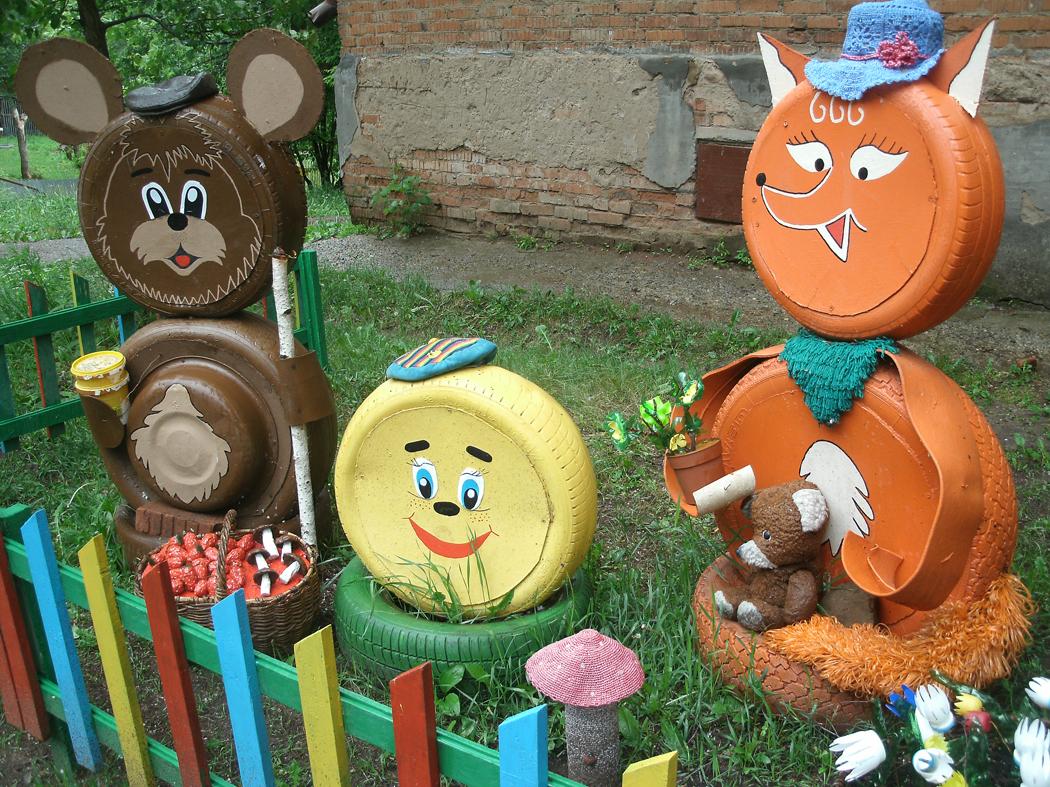 Поделки своими руками для детского сада из огорода 144