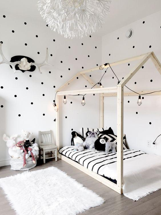 Scandinavian interior kids