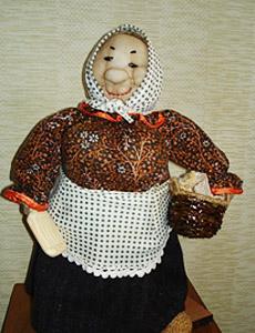 Изготовление интерьерной куклы