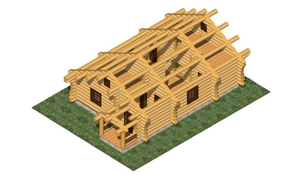 Счего начинается строительство деревянного дома