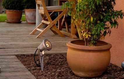 Прожектор с пикой