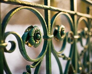 Ограды художественной ковки