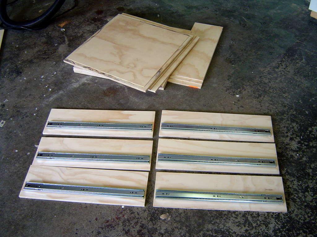 Изготовление комода деревянного