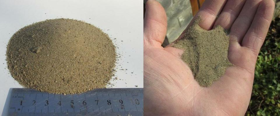 Речной мытый песок