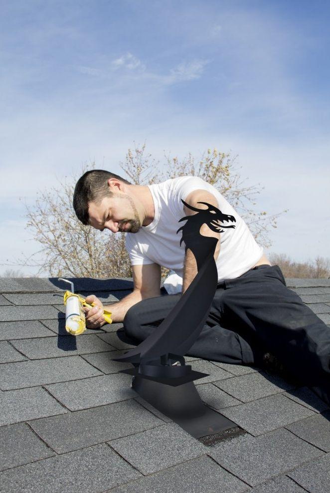Инструкция помонтажу флюгеров накрышу