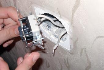 Замена выключателя света в квартире своими руками