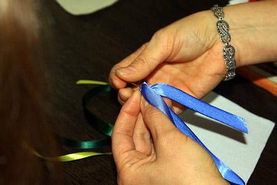 Вышивка шелковыми лентами