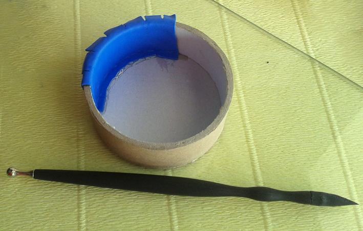 Слой полимерной глины