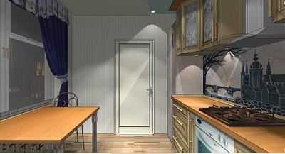 кухня 9 кв метров