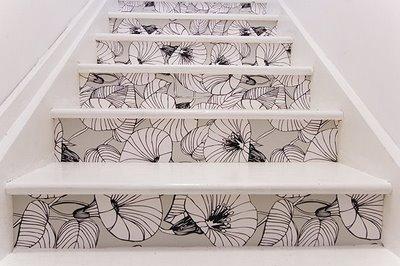 Граффити на лестнице