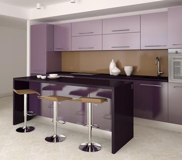 Фиолетовый в интерьере фото