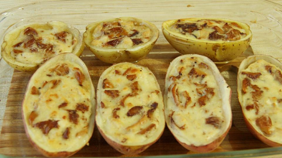Печеный картофель
