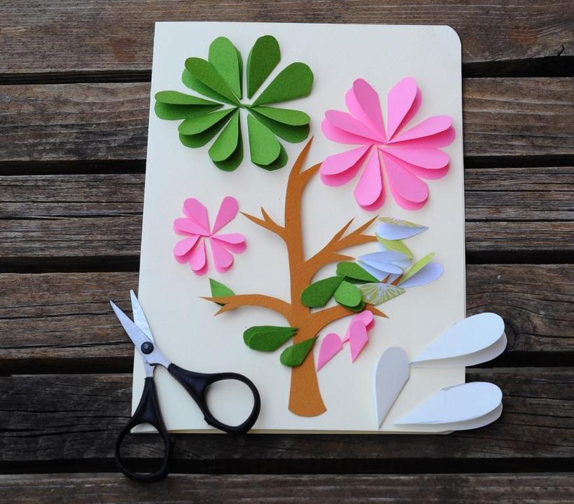 Как сделать открытку своими руками и чем украсить - Открытки своими руками Сайт о том, как сделать открытку