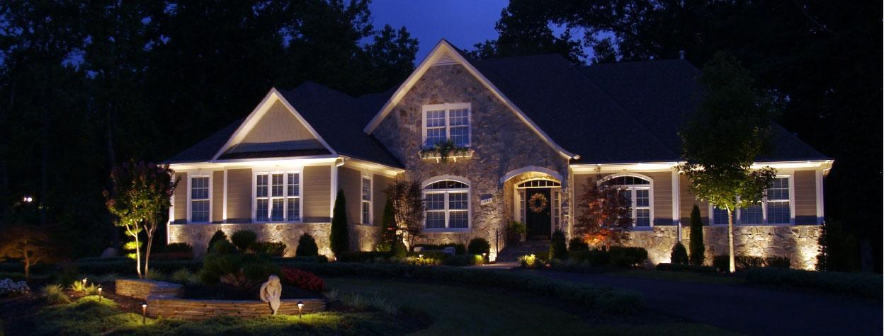 Оригинальные идеи подсветки дома