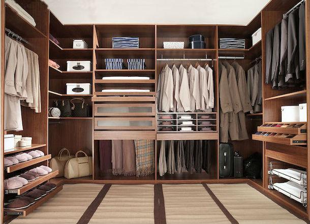 Как правильно определиться сплощадью гардеробной? Советы дизайнера