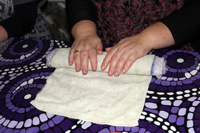 Техника мокрого валяния из шерсти