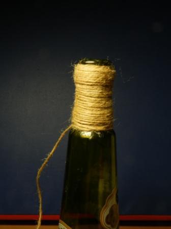 Обмотка бутылки