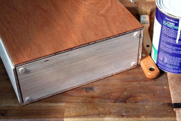 Органайзер из дерева