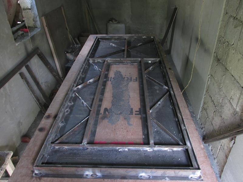 самодельная железная дверь своими руками