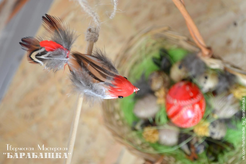 Декоративная птичка