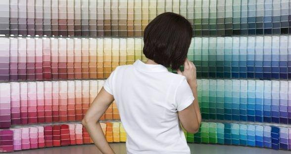 Цвет краски