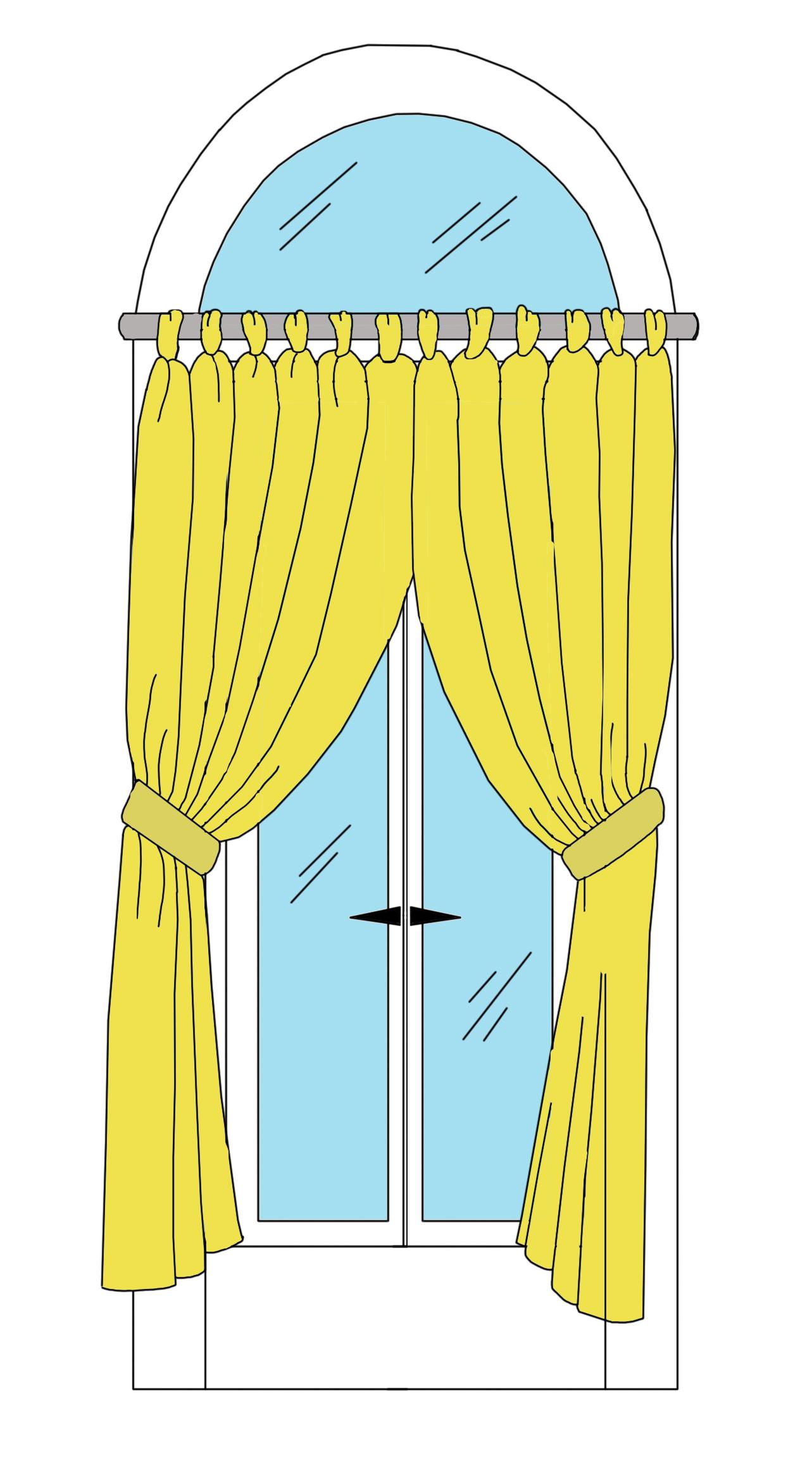Карниз для арочного окна